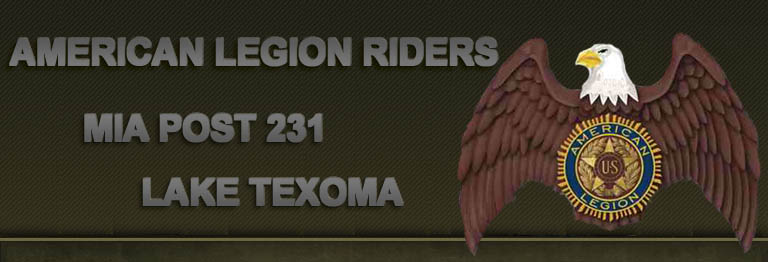 American Legion Riders Mia Post 231 Lake Texoma